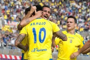 UD Las Palmas - Real Zaragoza (5-3), enero 2015